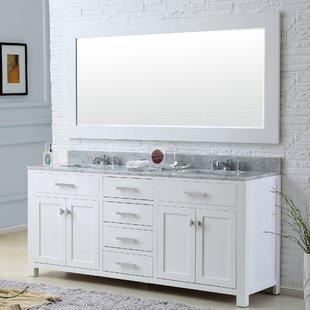Large Double Vanity Mirror | Wayfair