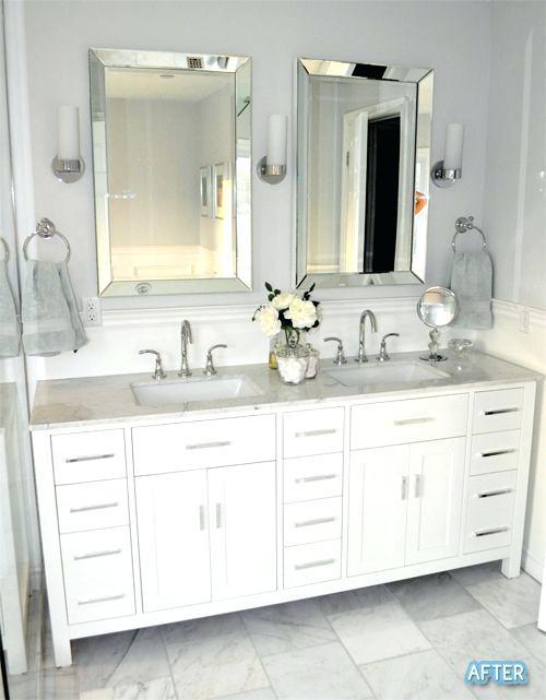 Bathroom Mirrors For Double Vanity Bath Vanity Mirrors Double Vanity