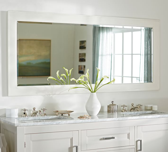 Large Bathroom Mirror For Double Vanity