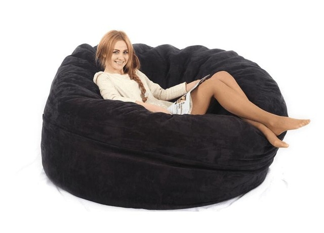 Large bean bag Adult Bean bag chair bean bag COVER, Not included
