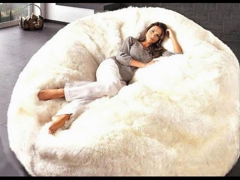 Extra Large Bean Bag Chairs for Adults - YouTube