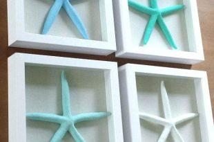 Large Metal Starfish Wall Art Nautical Outdoor Decor Coastal Wall