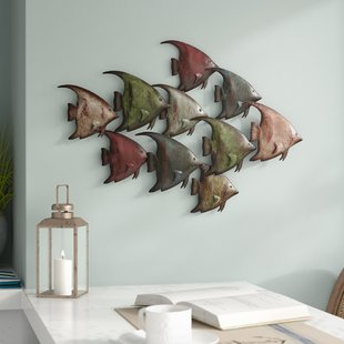 Beach Themed Metal Wall Art | Wayfair