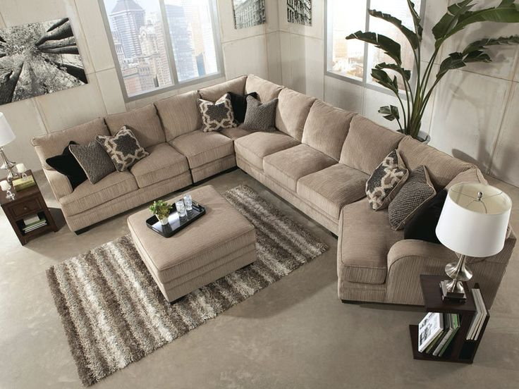 15 Large Sectional Sofas That Will Fit Perfectly Into Your Family