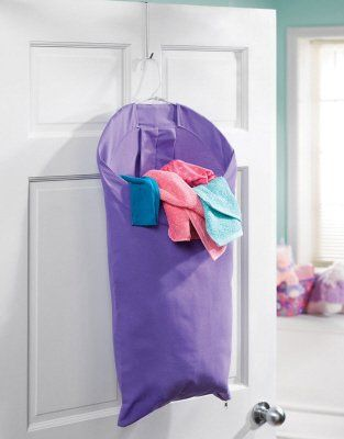 Small Space Solution: Back-of-the-door Laundry Hampers | Apartment