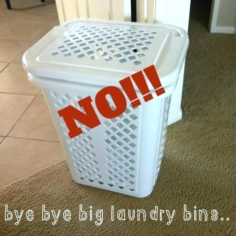 Laundry Hamper Ideas For Small Spaces | lacetothetop.com