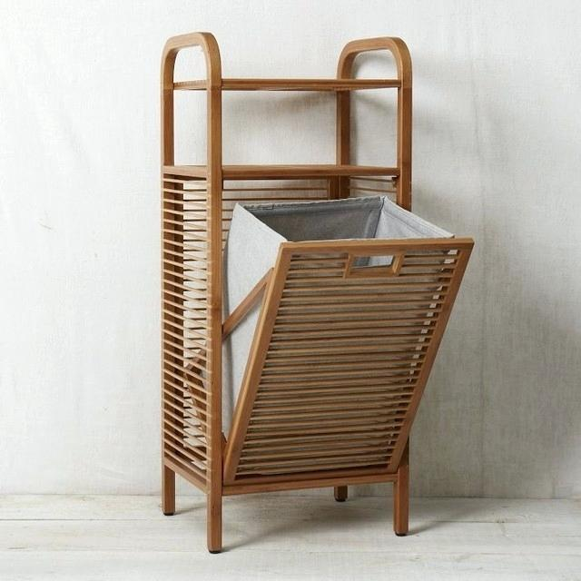 Laundry Hamper Ideas For Small Spaces Fanciful Bathroom Interior