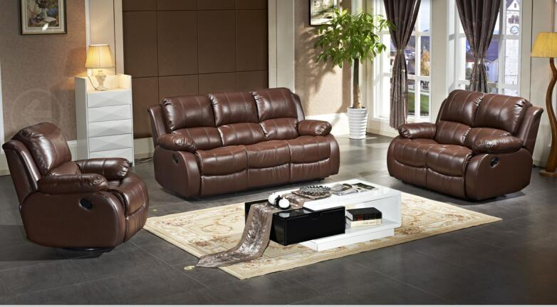 Living room sofa modern sofa set recliner sofa for home -in Living