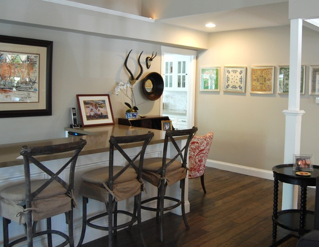 Living room bar - Transitional - Living Room - Orange County - by