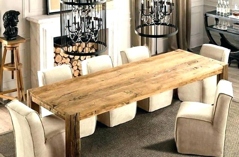Long Narrow Dining Table With Leaves