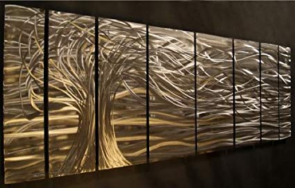 Amazon.com: Contemporary metal wall art. Wall Sculptures by Ash Carl
