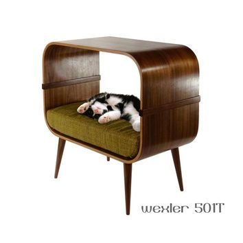 Mid-century modern cat furniture | Spoiled Pets | Modern cat