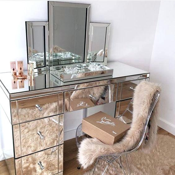 Furniture Plural Or Singular Verb Smoke Mirrored Dressing Table 4