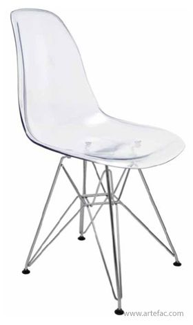 Modern Furniture :: Chairs :: RE-3433 Modern Acrylic Side Chair