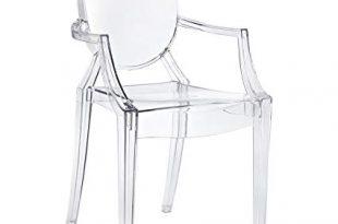 Amazon.com - Modway Casper Modern Acrylic Dining Armchair in Clear