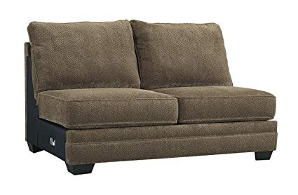 Amazon.com: Benchcraft - Justyna Contemporary Armless Loveseat