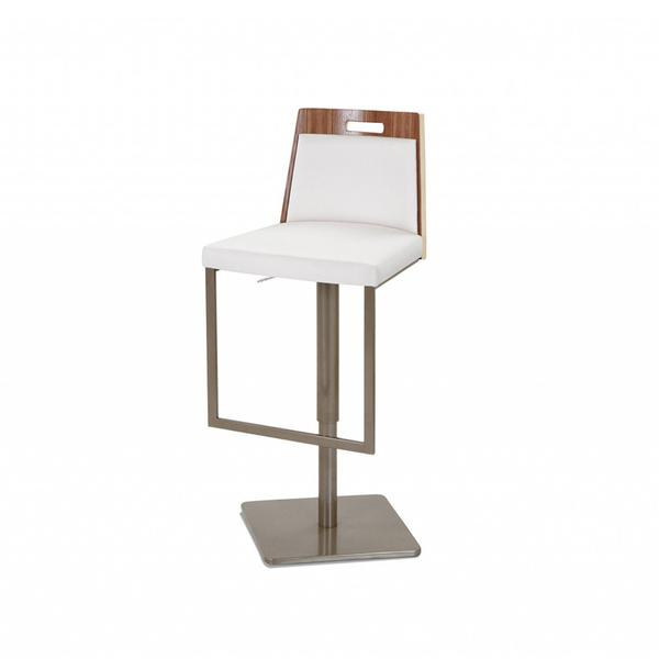 The contemporary Tyler swivel bar stool by Elite Modern. - Five