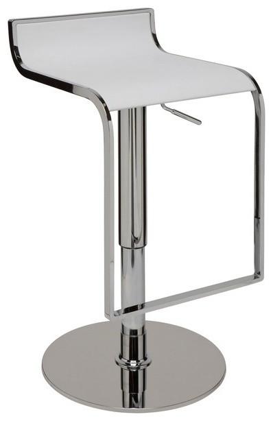 Alexander Adjustable Bar Stool, Modern Contemporary Counter Stool
