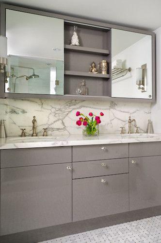 kids' bathroom + medicine cabinet | Home - Kids Bath | Bathroom