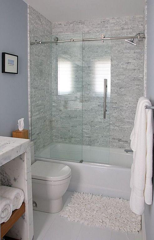 21+ Unique Bathtub Shower Combo Ideas for Modern Homes | Bathroom