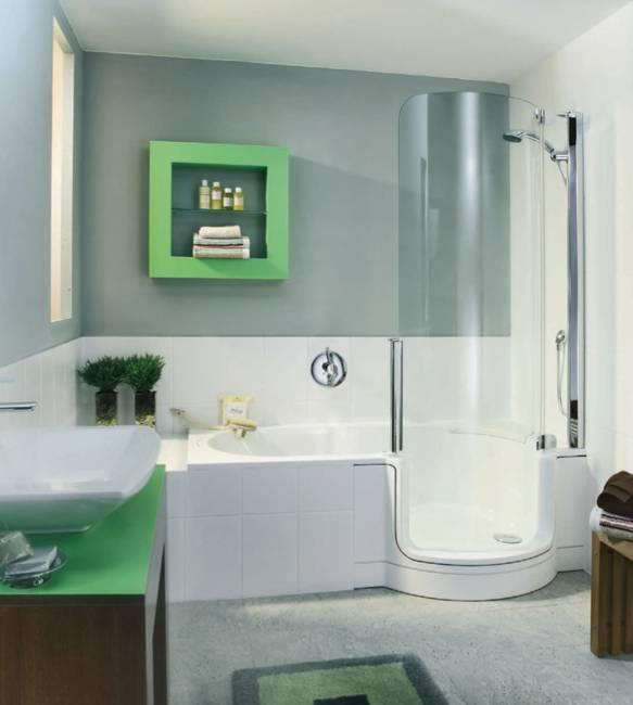 Stylish Bathtubs and Shower Enclosures, Modern Bathroom Design Ideas