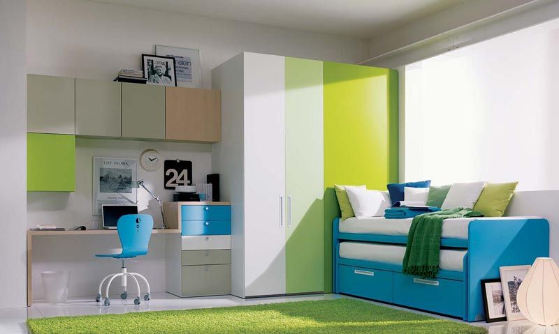 NICE! Cool Teenage Girls Bedrooms with Modern Furniture from Dielle