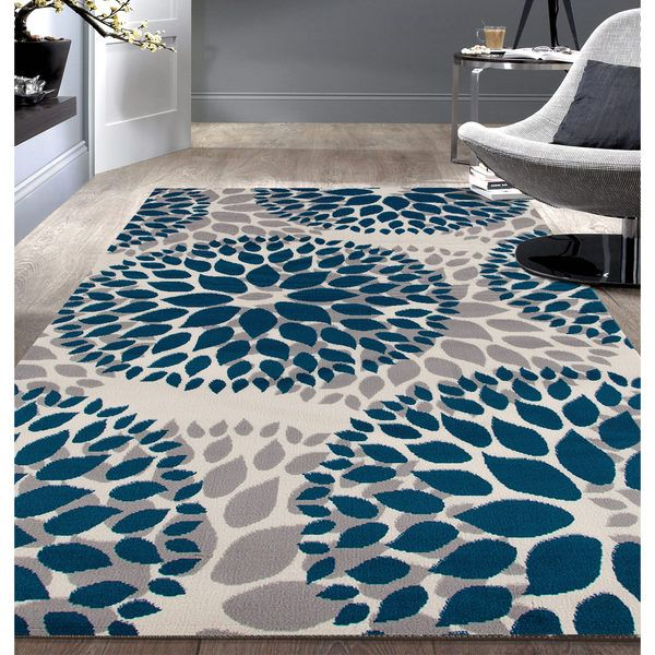 This beautiful rug is unique, stylish and ready to accent your decor