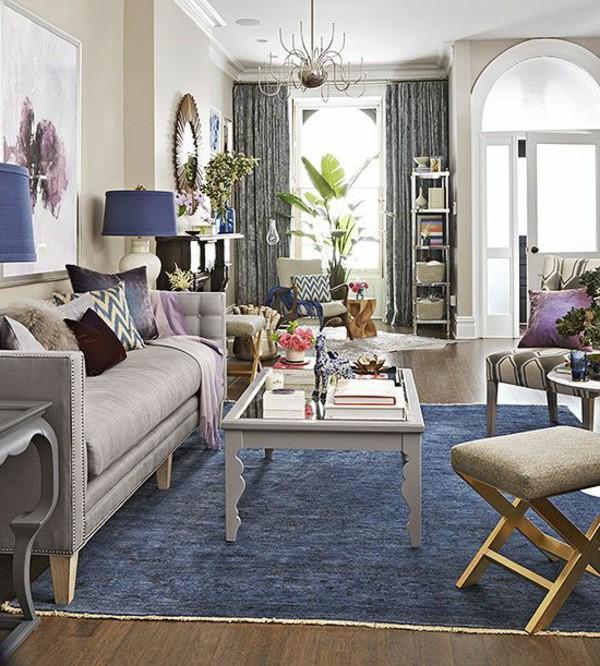 Blue Carpet Living Room | amazing home interior