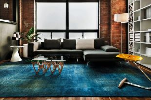 Modern blue carpet for living room looks the best u2013 DesigninYou