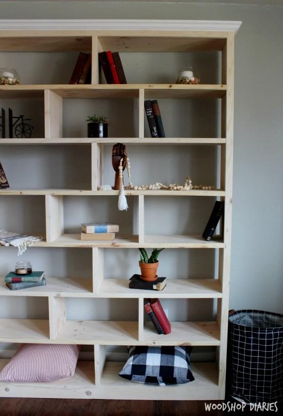 How to Build a Simple Modern DIY Bookshelf