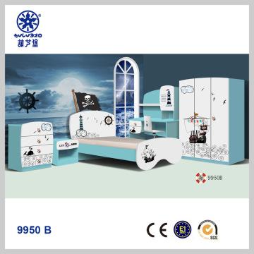 9950 B, China Boys bedroom set Kids beds bedroom furniture modern