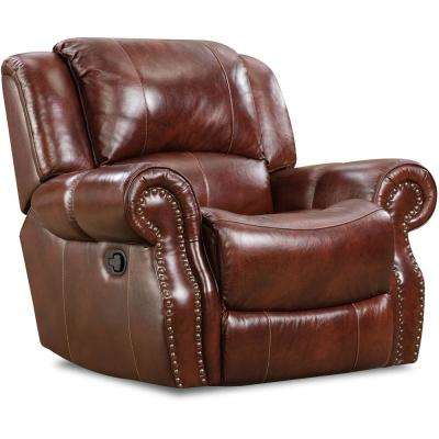 Modern - Faux Leather - Recliners - Chairs - The Home Depot