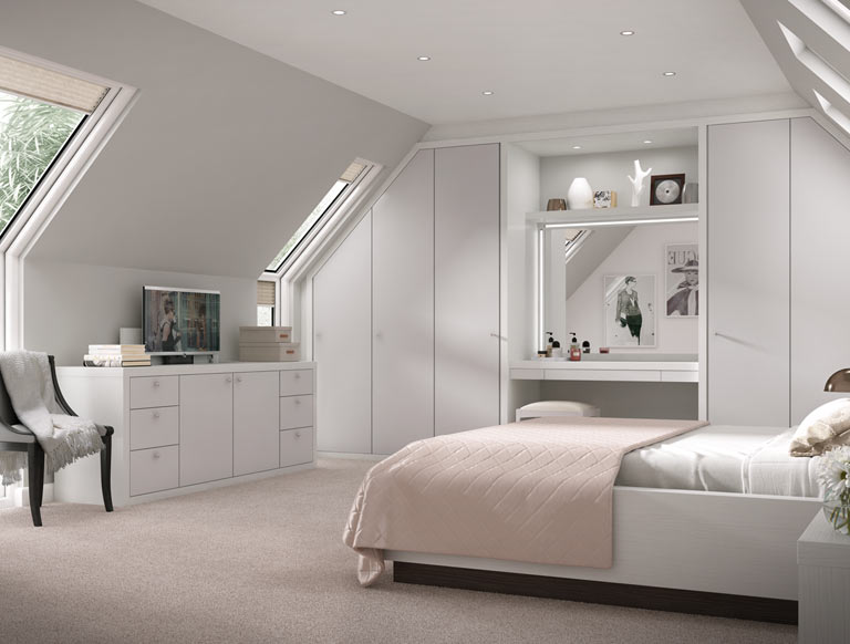 Contemporary Fitted Bedrooms & Stylish Modern Wardrobes | Strachan