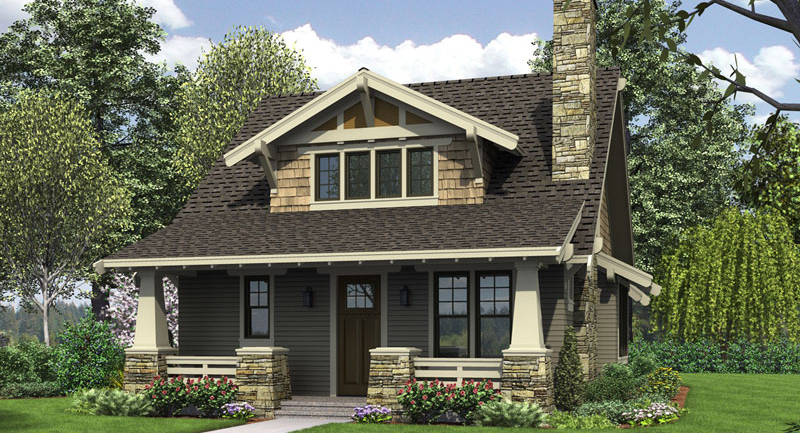 Bungalow House Plans, Small Modern & Customized Home Designs