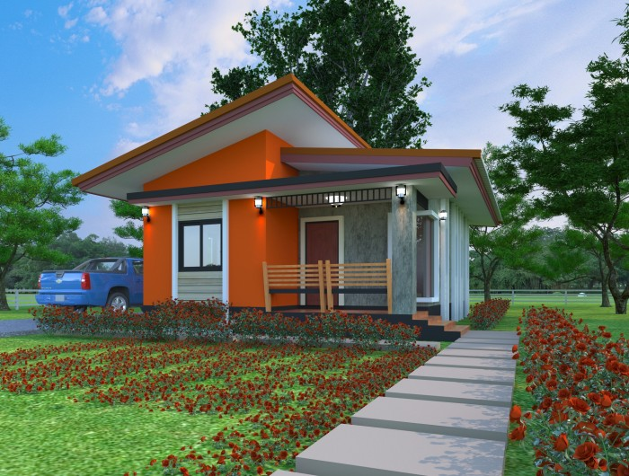 Small Bungalow House Design Concept | Home Design