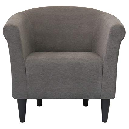 Amazon.com: Modern Barrel Chair - Chic Contemporary Accent Furniture