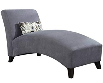 Amazon.com: Modern Chaise Lounge Chair - This Polyester Microfiber