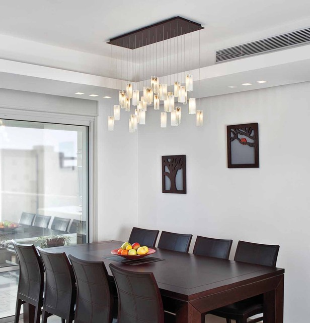 Drops Chandelier - Contemporary - Dining Room - Los Angeles - by