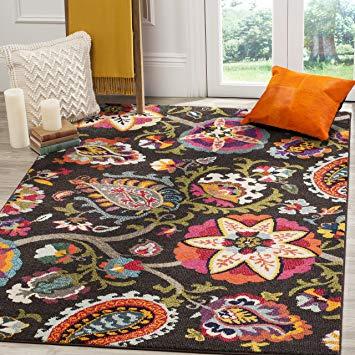 Amazon.com: Safavieh Monaco Collection MNC229B Modern Colorful