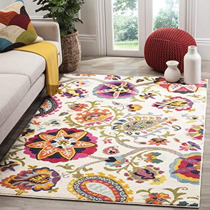 Amazon.com: Safavieh Monaco Collection MNC229A Modern Colorful