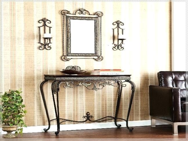 Hallway Table Ideas Hallway Table And Mirror Sets Modern Style Hall