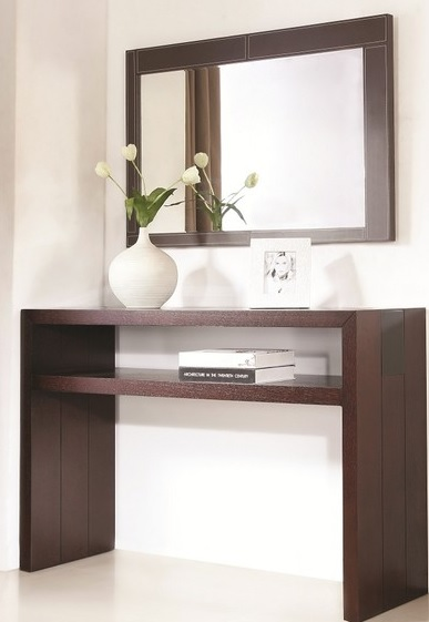 Jenny Console And Mirror Set Modern Console Tables | Costa Rican