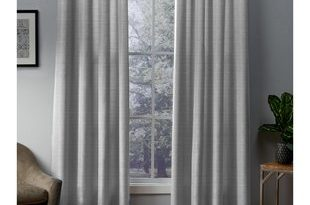Charcoal Gray Curtains | Wayfair