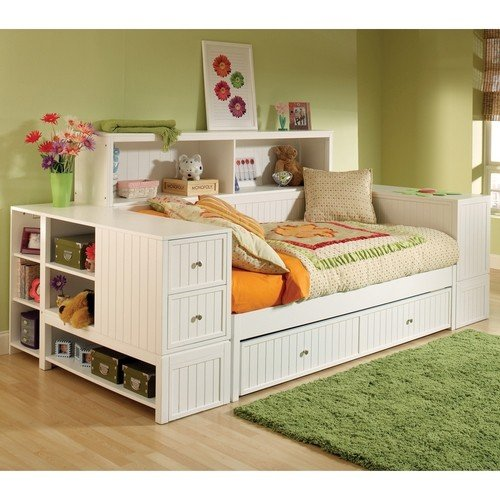 Modern Day Bed With Trundle And Storage