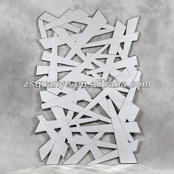 contemporary modern shatter wall art mirrors, View modern decorative