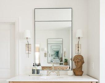 Modern wall mirror | Etsy
