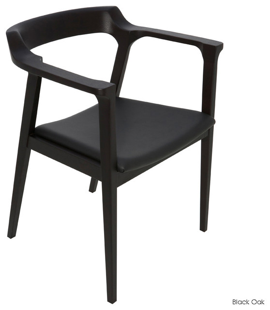 Caitlan Dining Armchair - Contemporary - Dining Chairs - by Inmod