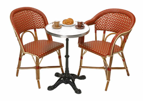 Modern French Bistro Tables And Chairs