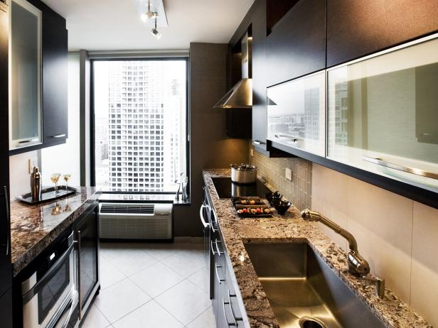 Small Galley Kitchen Ideas: Pictures & Tips From HGTV | HGTV