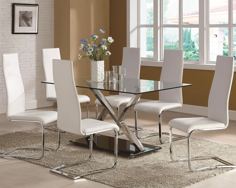 Interior Design For Glass Dining Room Set Fabulous Table Best With